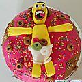 Foret noire decor homer et ses donuts