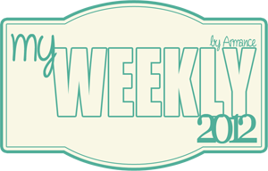 My weekly 2012