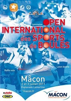 Boules Lyonnaise Affiche Macon