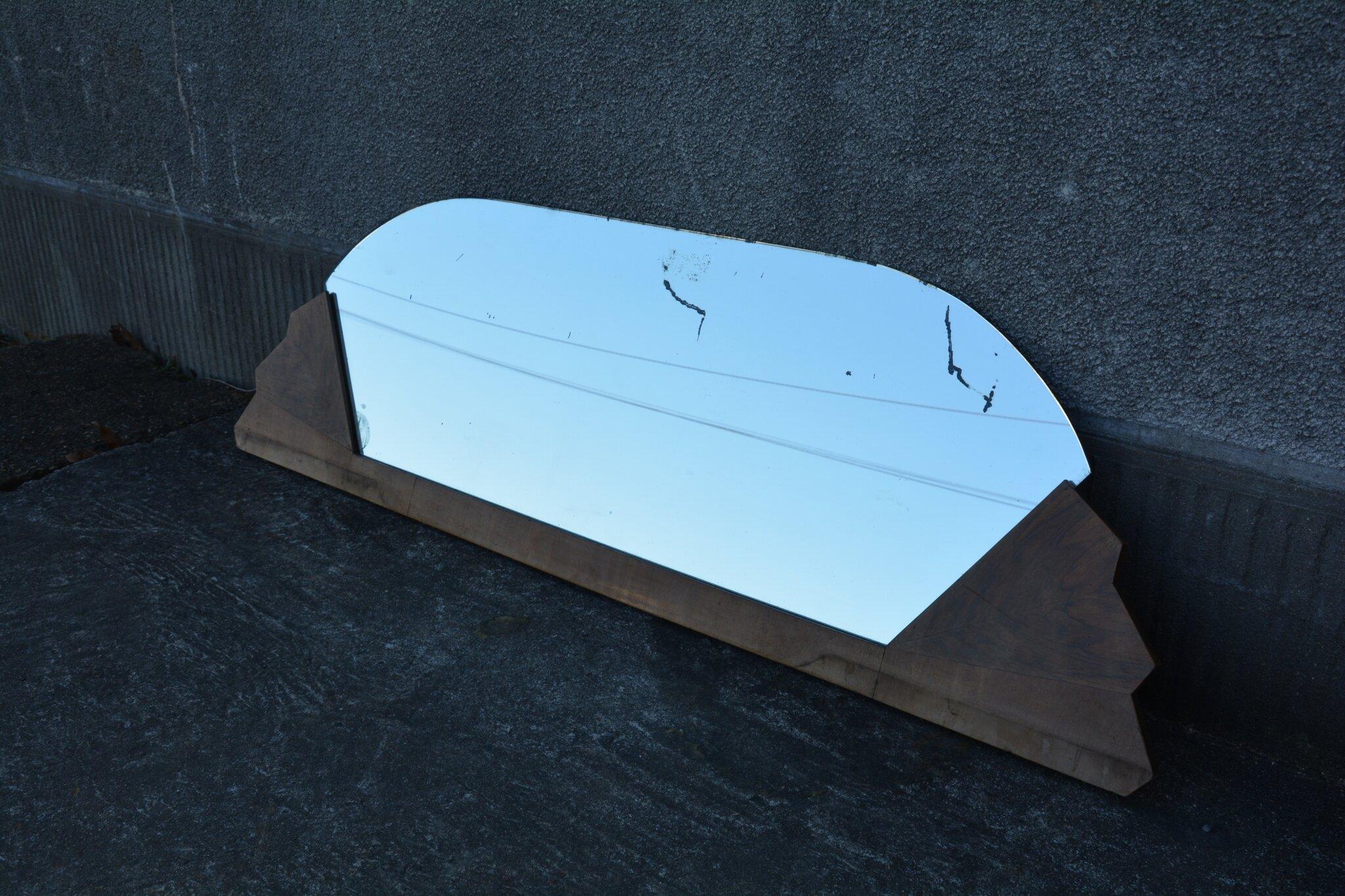 miroir art d co la petite brocanteuse. Black Bedroom Furniture Sets. Home Design Ideas