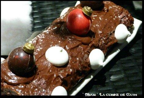 """ღ """" Miam """" ☆ Bûche Citron, Mascarpone Chocolat et Framboises ☆"""