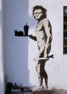 banksy_caveman