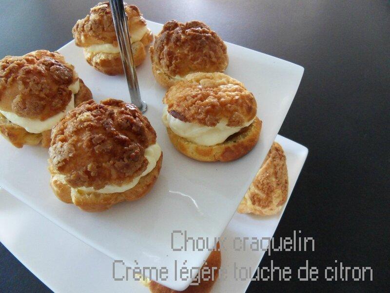 choux craquelin crème légère1