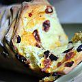 Brioche à effeuiller chorizo-olives-parmesan