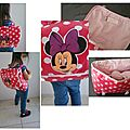 Le cartable minnie