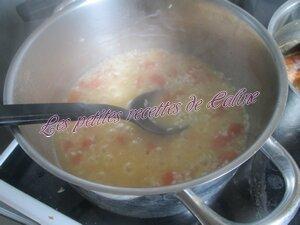 Risotto d'anneaux d'encornets parmesan40