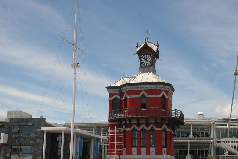 Clock Tower on Waterfront