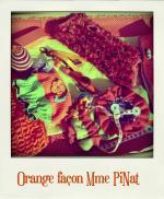 defi orange lily-pola