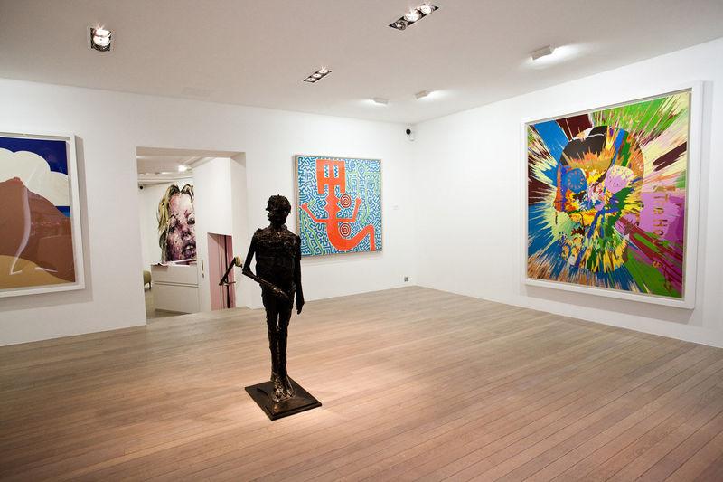 Les oeuvres de l 39 artiste robert combas pr sent es par laurent strouk galerie d 39 art paris 8eme - Galerie street art paris ...