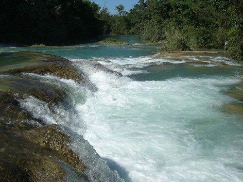 Chiapas highlands - Agua Azul Falls