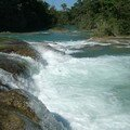 Chiapas highlands - Agua Azul Falls