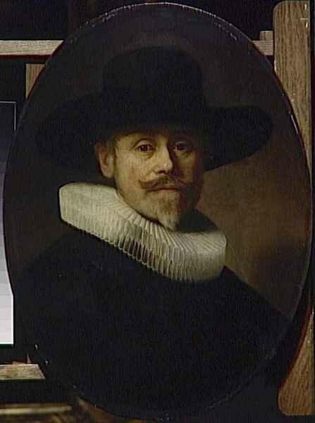 01 - Albert Cuyper (1585-1637), marchand à l'âge de 47 ans