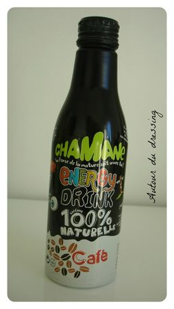 chamane cafe energy drink test