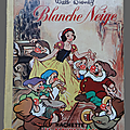 Livre collection ... blanche neige (1961) * albums roses *
