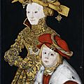 Newly attributed portrait by lucas cranach the elder goes on display at windsor castle