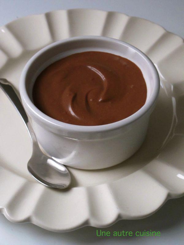 cr me au chocolat sans oeuf ni beurre au tofu soyeux et piment une autre cuisine. Black Bedroom Furniture Sets. Home Design Ideas