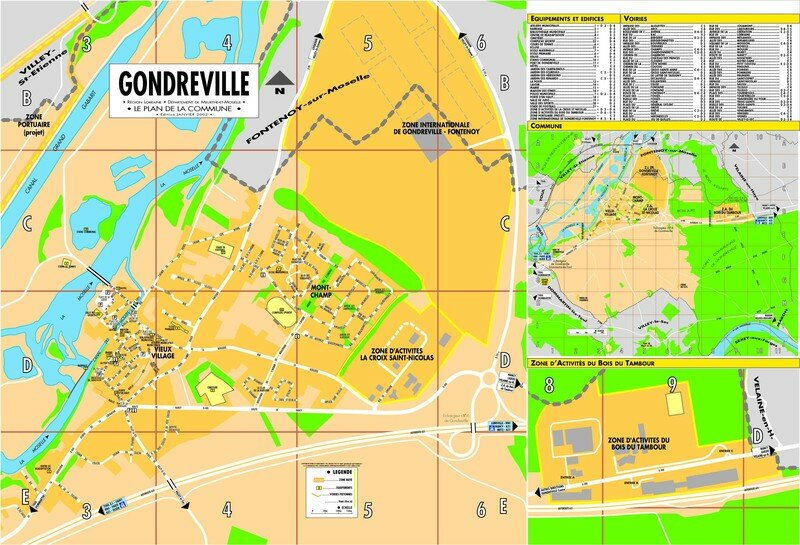 Des documents de constat zones inondables entre nancy et for Gondreville 54