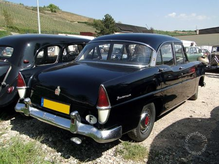 Simca vedette versailles 1954 1957 Bourse d'Echanges de Soultzmatt 2011 2