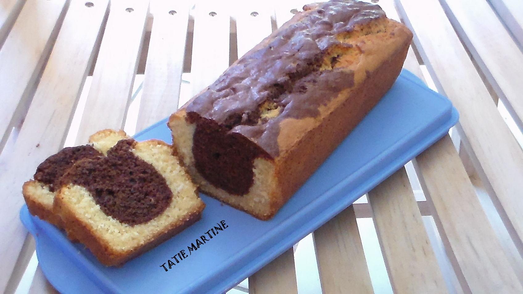 Recette Cake Marbr Ef Bf Bd Moelleux