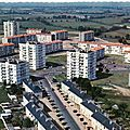 Cholet, le quartier Bonnevay