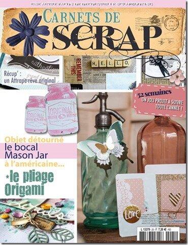 Carnets de Scrap n°25
