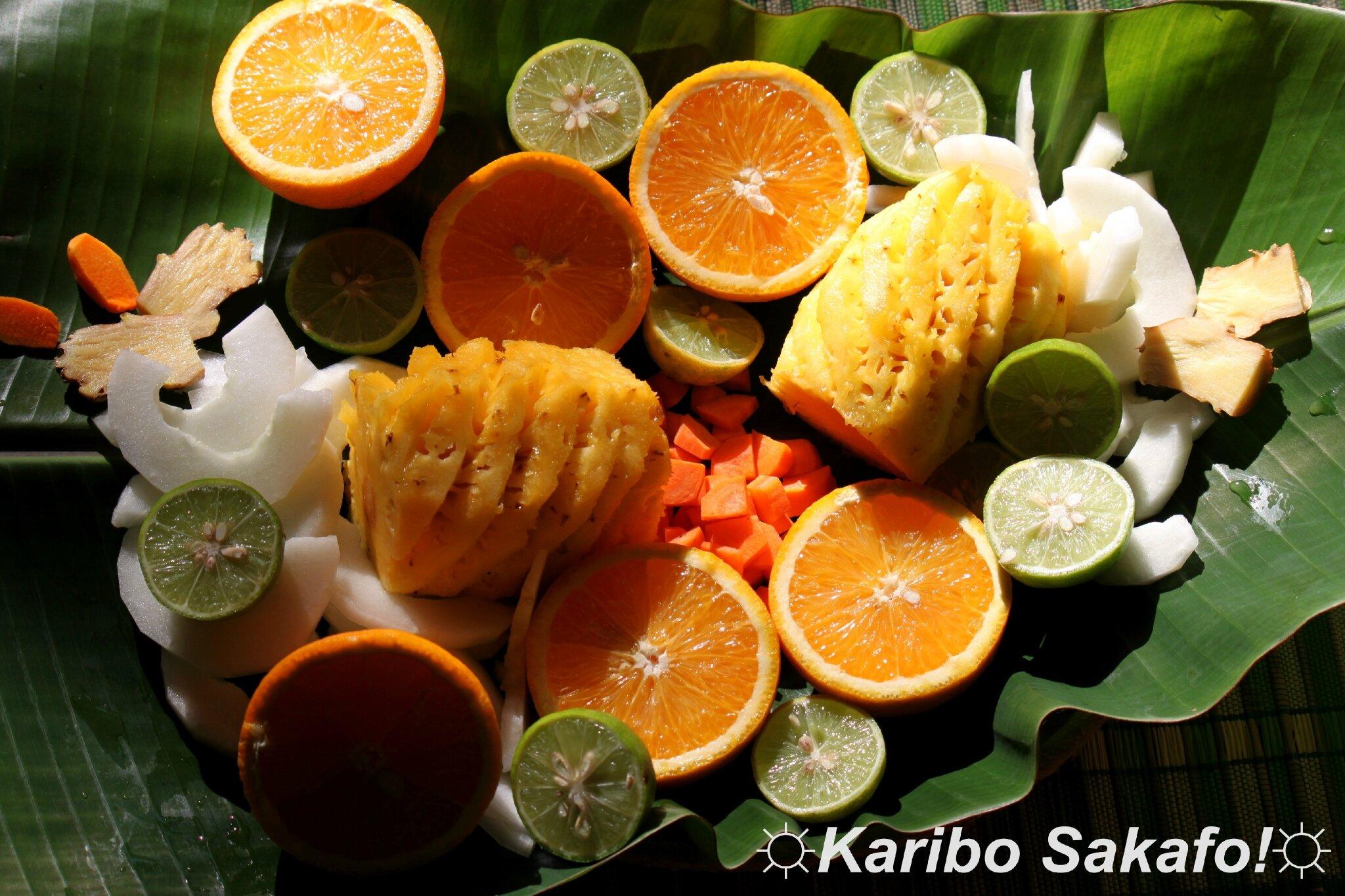 Jus de fruits et légumes maison vitaminé