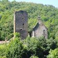Ruine près de Tournemire