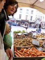 ail, carottes, oignon frais, betterave rouge, oignon et pommes de terre charlotte au jardin du Rozay de Michel Hervé, producteur à Condrieu
