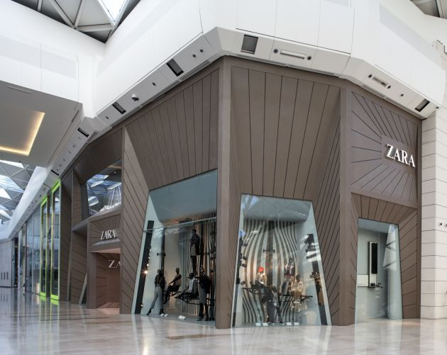 Favorit Boutique ZARA Westfield LONDRES Grande Bretagne - Architecture  MT59