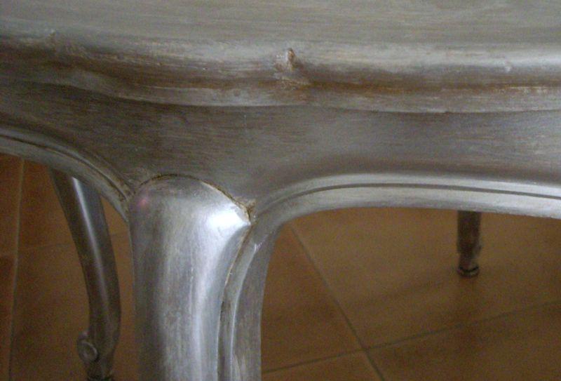 D tails de ma table basse patin e mas d patines broc 39 lin for Produits liberon