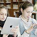 La mallette de lecture numérique : une utilisation intéressante des tablettes !