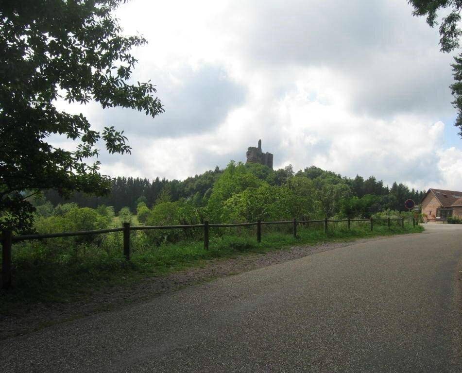 Le château de Fleckenstein dans le Bas-Rhin