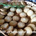 Sablés au parmesan et au romarin
