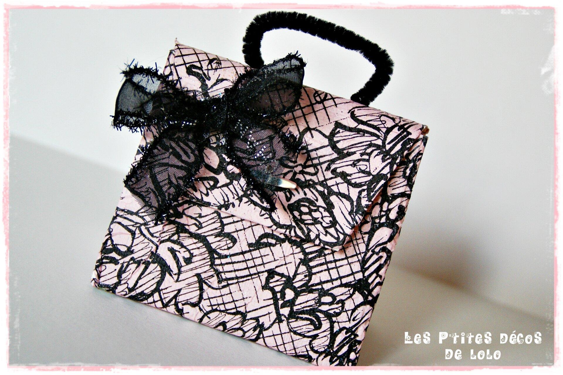 Boîte cadeau sac à main