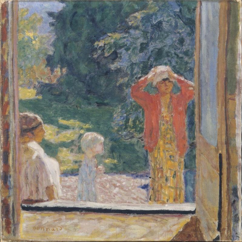 1923 - Derrière la fenêtre