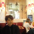 shin in café jeanette, paris