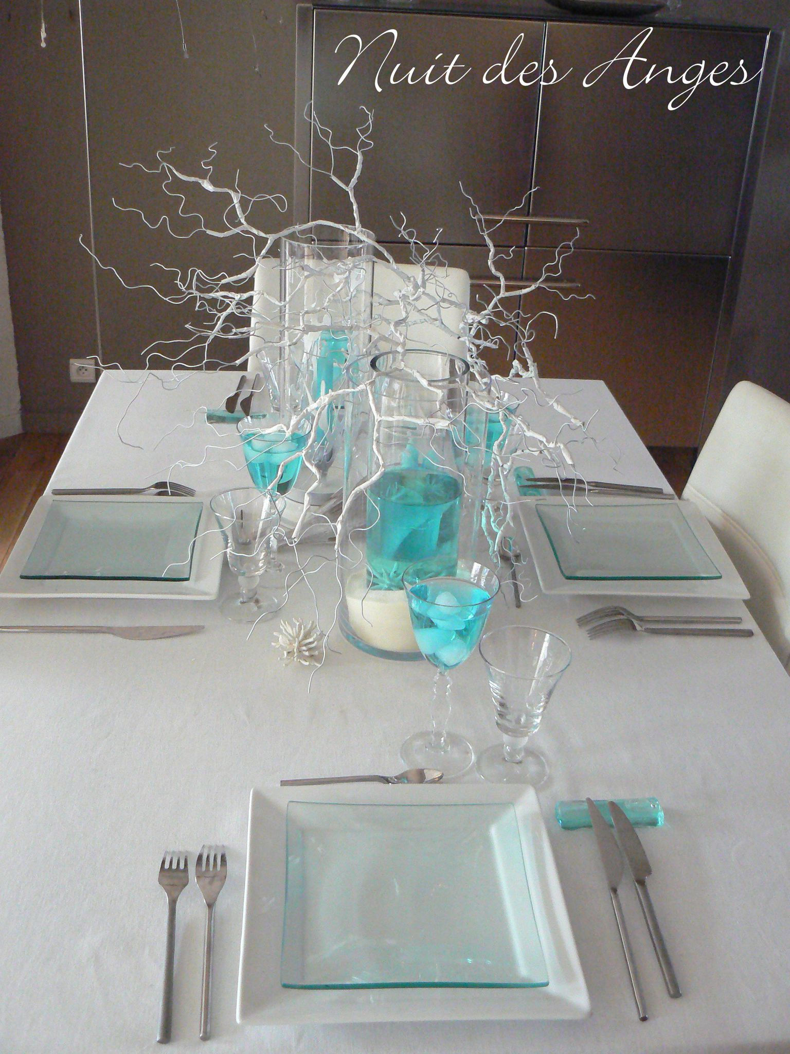nuit des anges d coratrice de mariage d coration de table turquoise exotique 001 photo de. Black Bedroom Furniture Sets. Home Design Ideas