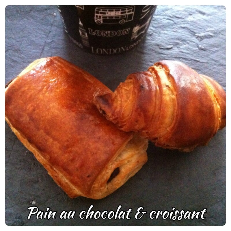 Croissants et pains chocolat Christophe Felder