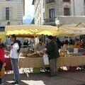 Marché fermier à Barcelo