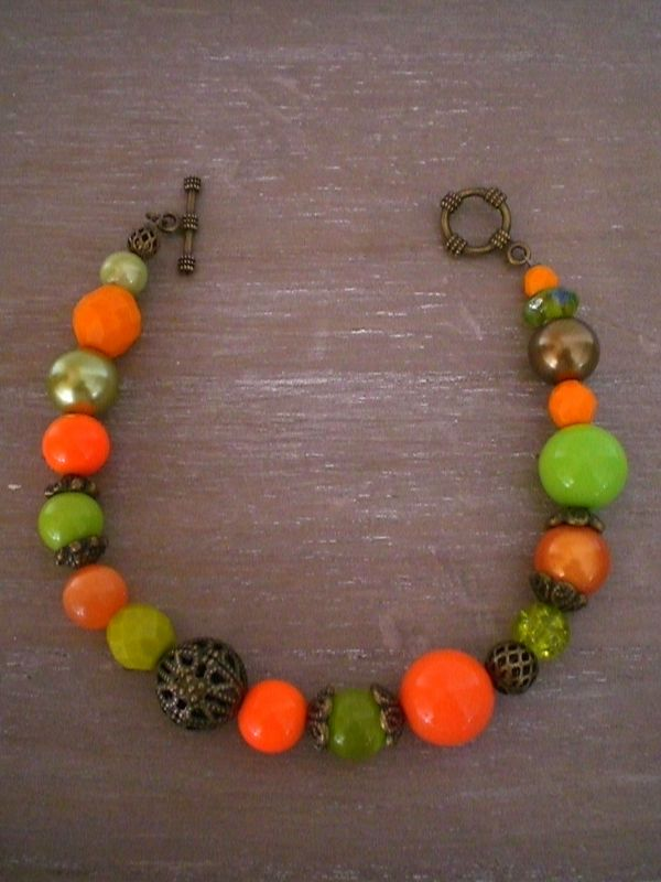 Duo antique Orange/Anis 25 euros