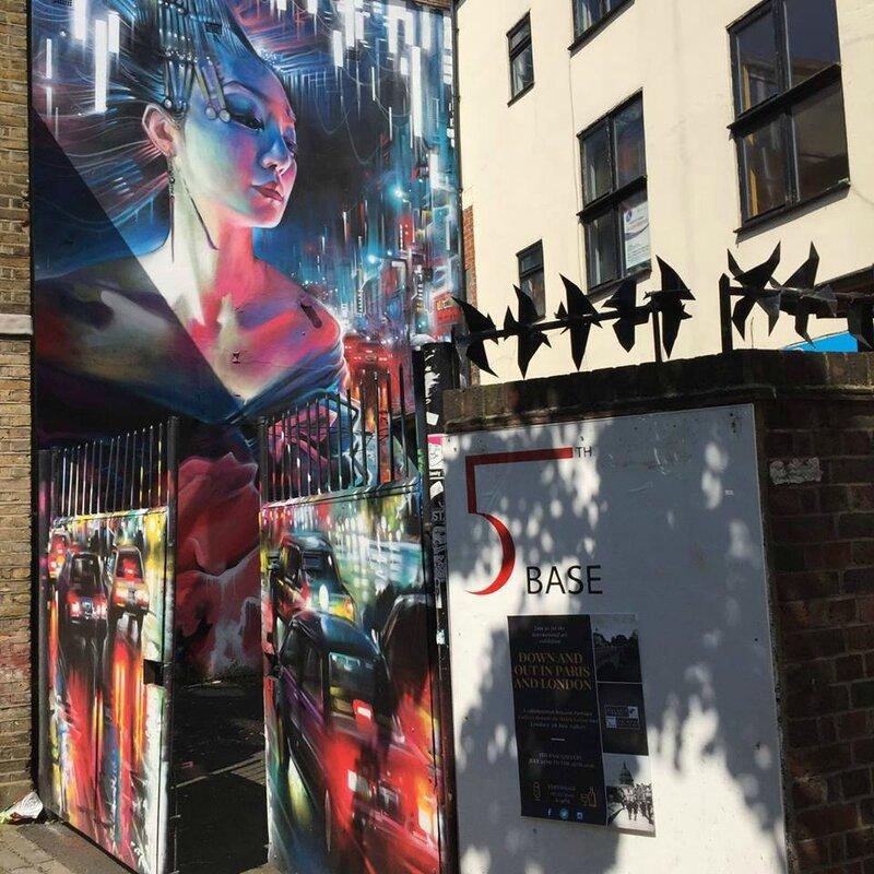 5th Base Gallery London. Photo: Gallerie BDMC Paris