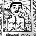 Des dessins avec les amis du crack festival, fabrice houdry et pablo del cielo