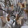 Papillons et coeurs