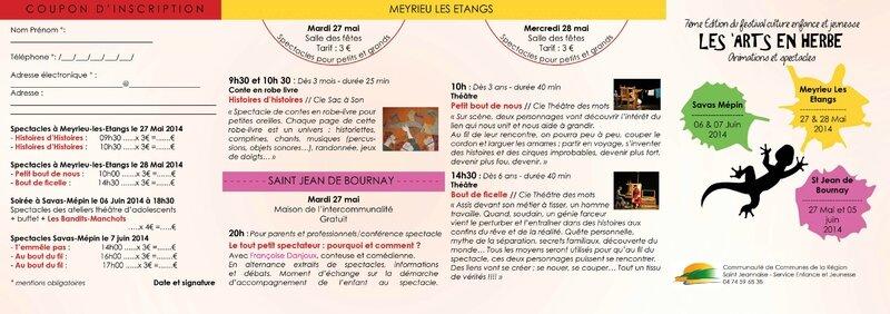 plaquette festival 2014 recto