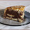 Charlotte au chocolat (pour un dessert léger)