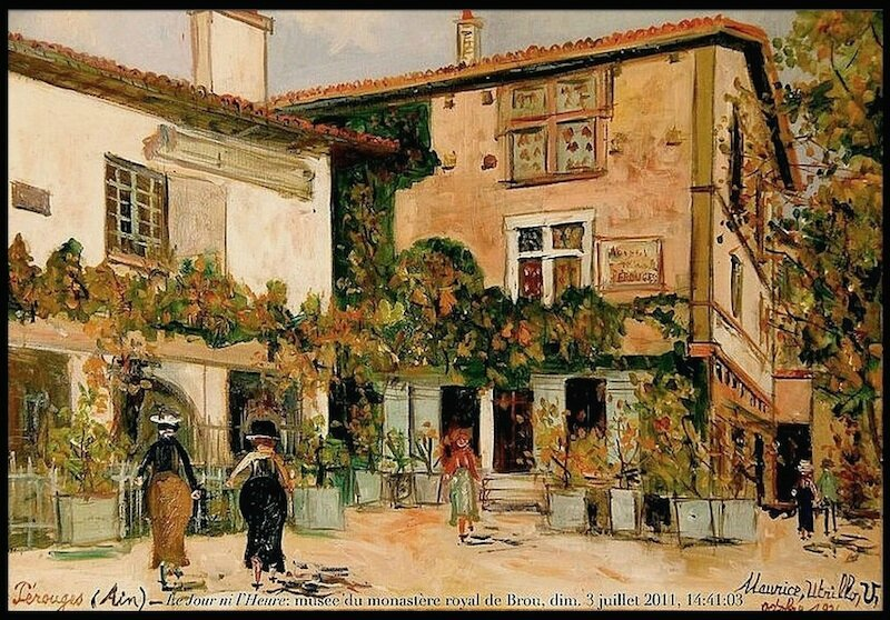 perouges maurice utrillo