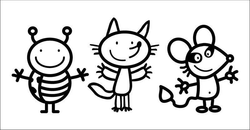 Fabuleux Trois mascottes pour l'école maternelle de Vallon en Sully - pictoblog IQ91