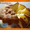 Brioche aux fruits secs