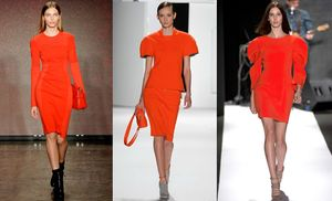ORANGE-DRESS-DKNY-LACOSTE-REBECCA-MINKOFF