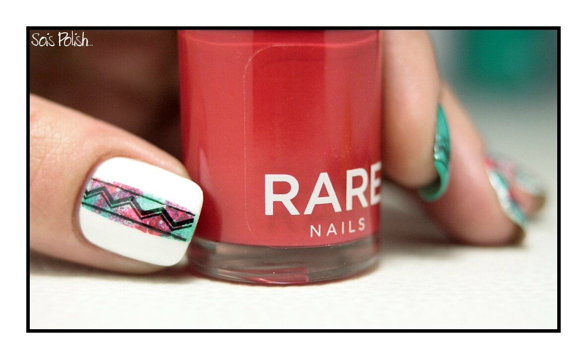 Come Back en Aztec avec RARE Nails !